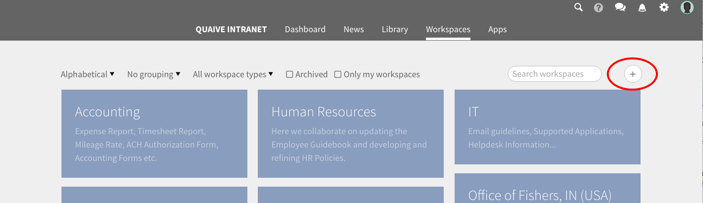 Espacios de trabajo de caso — documentación de Quaive - 2.0